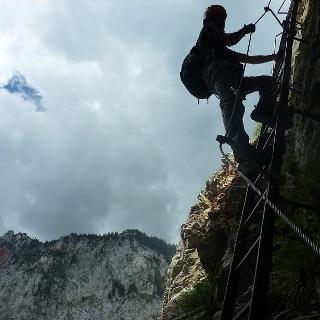 Auf der langen Leiter (B)