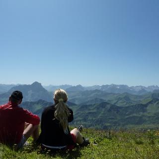 Gipfel Hoher Ifen