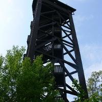 Vom Bismarckturm hat man eine herrliche Aussicht auf Bad Bergzabern.