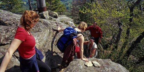 Abstieg Peilstein