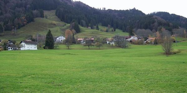Wiesen oberhalb von Ettensberg.