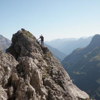 Karhorn Klettersteig