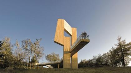 Skulptur Windklang am Erbeskopf