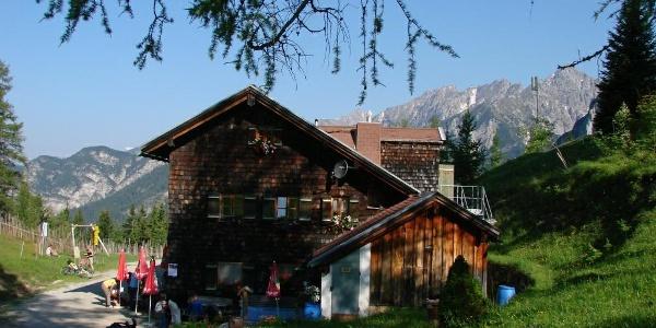 Start an der Neuen Magdeburger Hütte