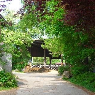 Bauernhof am Teußenberg.