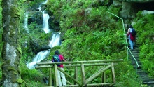 Von den Gertelbacher Wasserfällen zum Plättig
