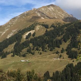 Approche Mont Grange