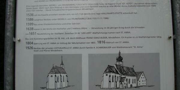 in St. Anna gibt es bewegte Geschichte