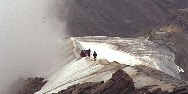 Gipfelgrat zum Similaun