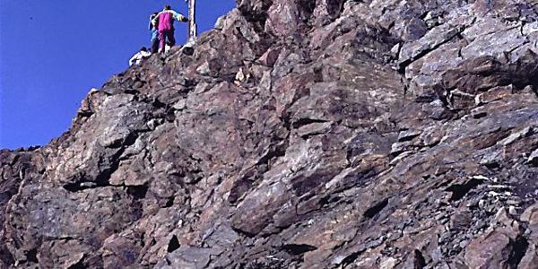 Gipfelkreuz der Fineilspitze