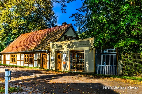 Glasmuseum im Herbst 2014 Neuglobsow