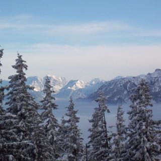 Der winterliche Edelsberg bei Pfronten
