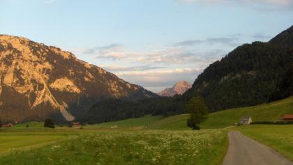 Schöner Ausblick auf dem Weg nach Fuchsau.