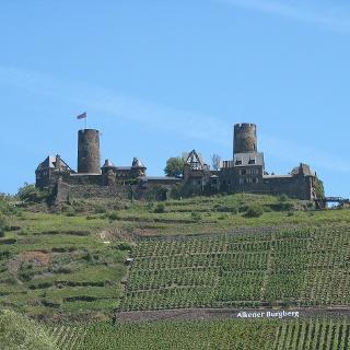 Die Burg Thurant bei Alken.