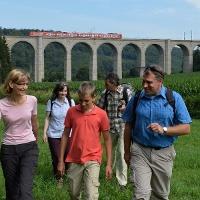 Kleiner Viadukt im Dunetal