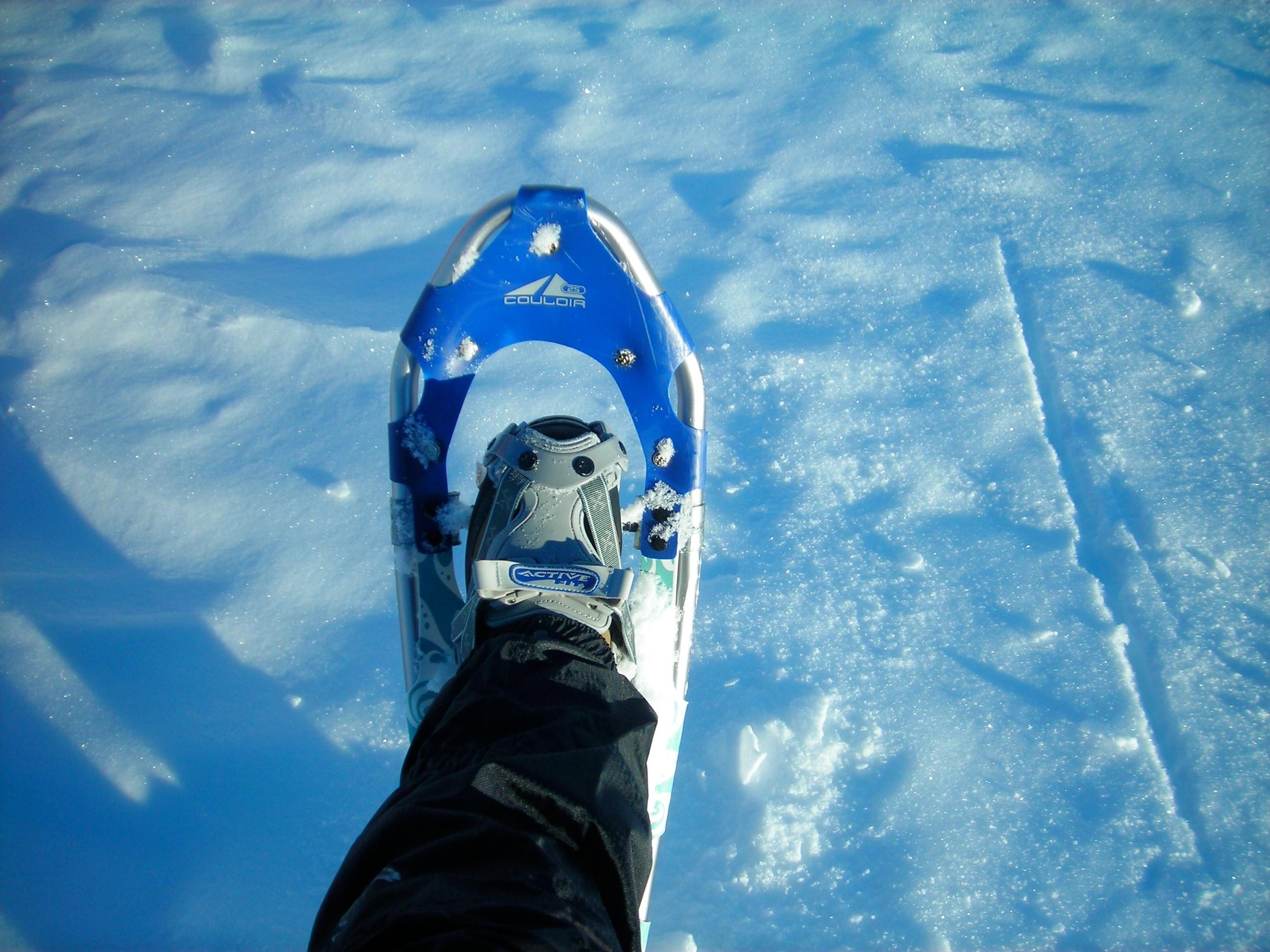 Schneeschuhgehen macht Spaß!