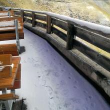 ups hat schon geschneit