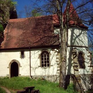 Die Kapelle St. Wendel zum Stein in Dörzbach.