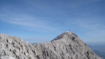 Der Kamm führt zum Gipfel des Großen Priel