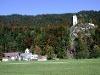 Der Ortsteil St. Anna mit Kirche und Ruine Vilsegg. - @ Autor: Rellektrebor, Lizenz: gemeinfrei - © Quelle: Wandermagazin