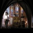 Das Innere der Klosterkirche Dobbertin.