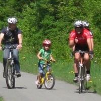 Radfahren entlang der Gail
