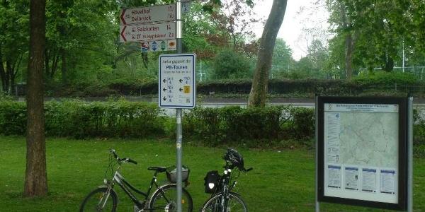 Startort der Paderborn-Touren am Maspernplatz