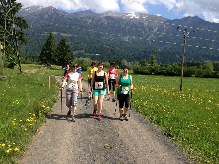 Nordic Walking in Dellach