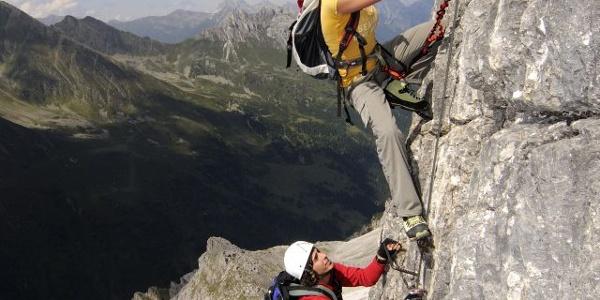 Ilmspitz-Klettersteig