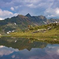 Der Brettersee am Hochwurzen-Höhenweg