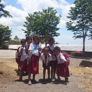 Kinder auf Flores, Indonesien