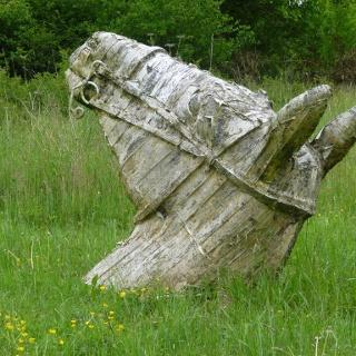 Skulptur lost land