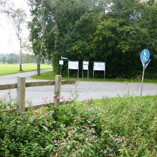 Parkplatz am Boker Kanal