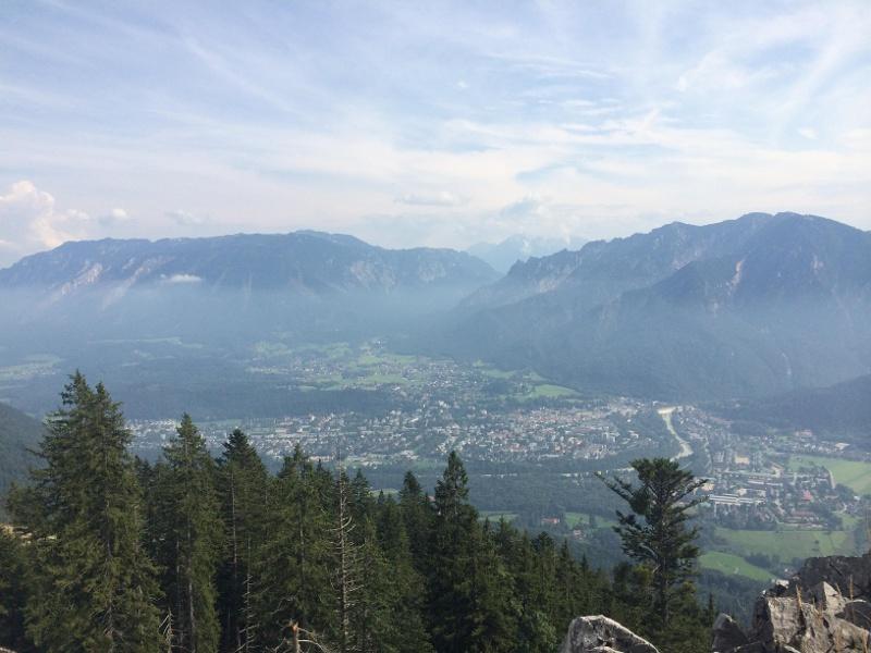Schöne Aussicht auf Bad Reichenhall