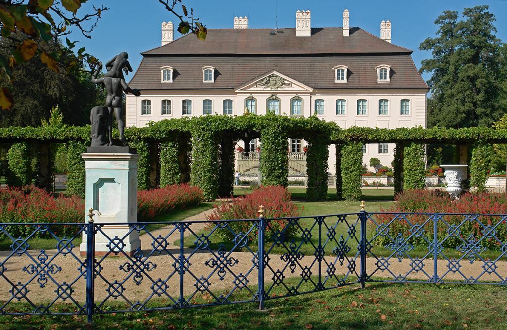 Der Branitzer Park mit Schloss.