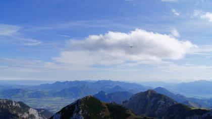 Blick in die Chiemgauer Berge