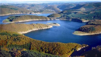 Rursee Schwammenauel (Luftbild)