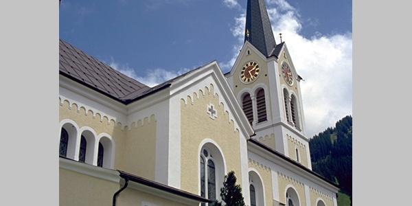 Pfarrkirche Maria Opferung in Riezlern