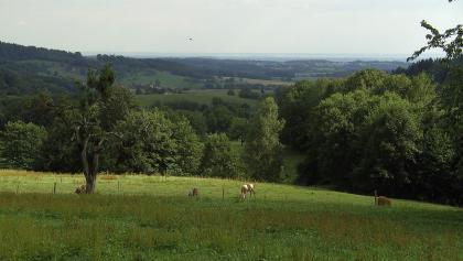 Blick von Krin, dem höchsten Part der Tour.