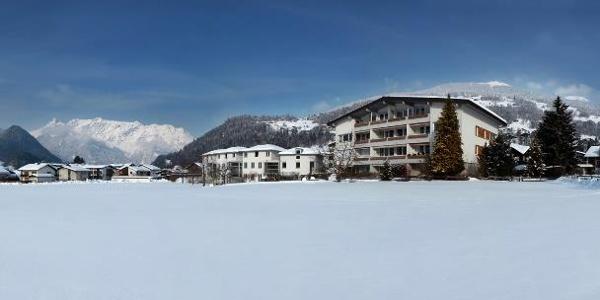 Panoramabild Winter
