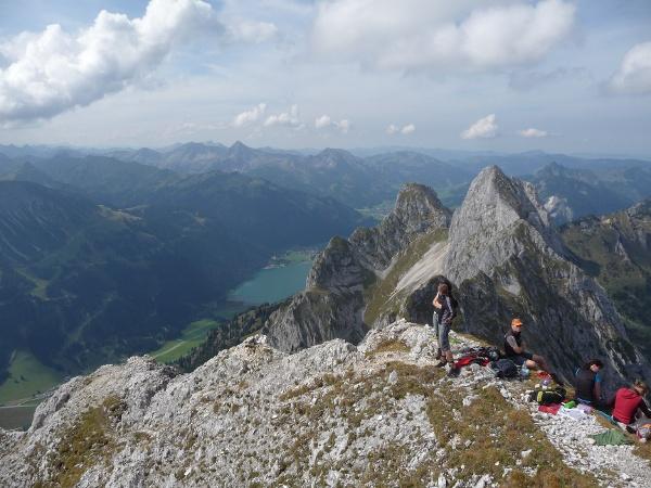 Klettersteig Tannheimer Tal : Klettersteig köllenspitze