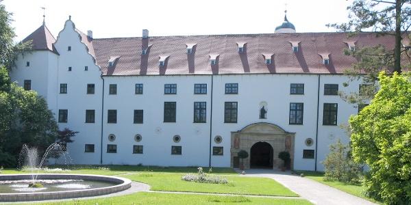 Das Fuggerschloss in Kirchheim.