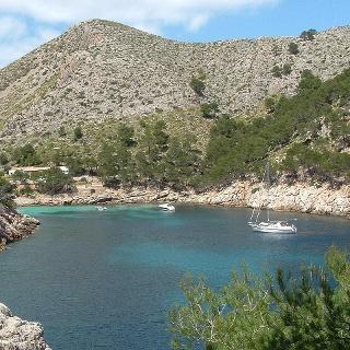 Die traumhafte Bucht Cala Murta.