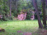 Buntsandsteinbrüche oberhalb von Bad Orb