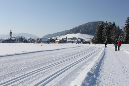 Winterwandern in Hittisau