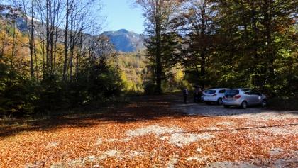 Parkplatz Gimbachkaskaden