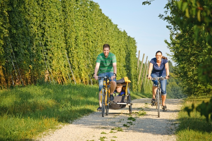 Brauerei-Radtour 2: Bierkunst und Hopfengärten-Tour