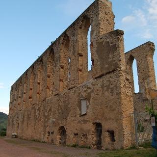 Die Klosterruine Stuben. Foto: Claudia Kiefer