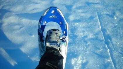 Schneeschuhwandern macht Spaß!