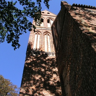 Die Wallfahrtskirche Kenz.
